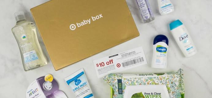 Target Baby Box Review – July 2017