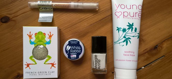 VOBEAUTY Box July 2017 Subscription Box Review + Coupon