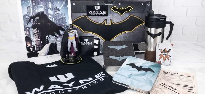 DC Comics World's Finest: The Collection Summer 2017 Box Review – BATMAN!