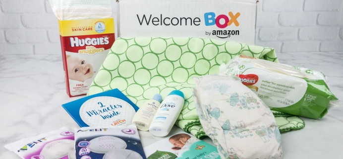 How to get the FREE Amazon Baby Welcome Box!