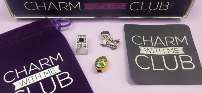 Charm With Me Club July 2017 Subscription Box Review + Coupon