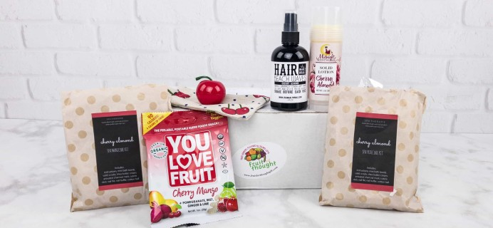 Fruit For Thought July 2017 Subscription Box Review & Coupon
