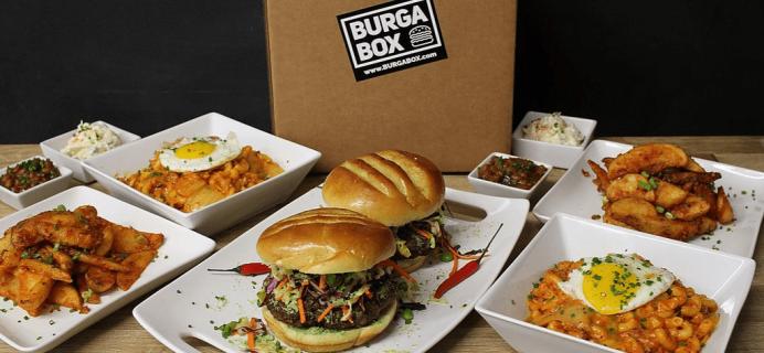 BurgaBox July 2017 Menu Available Now + Coupon!