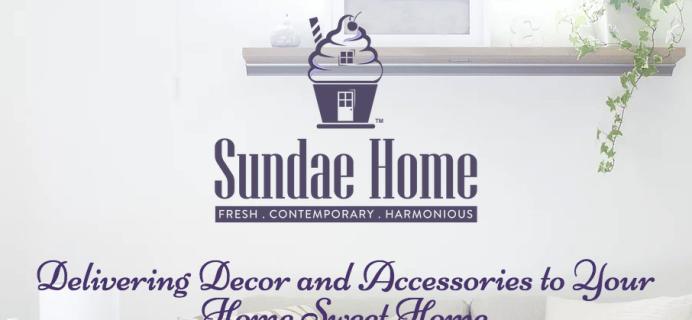 Sundae Home September-October 2018 Spoiler #1 + Coupon!