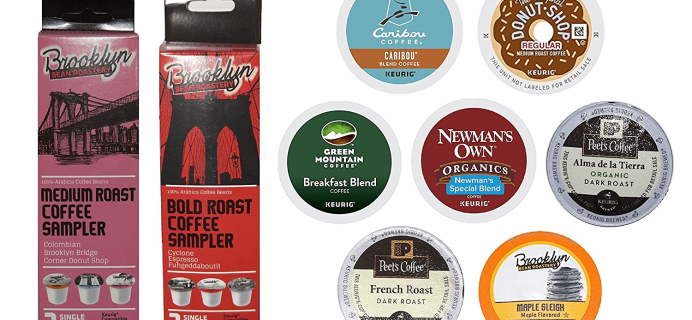 New FREE After Credit Amazon K-Cups Coffee Sample Box!