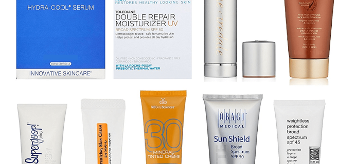 New Amazon Prime FREE After Credit Luxury Skin Care Sample Box!
