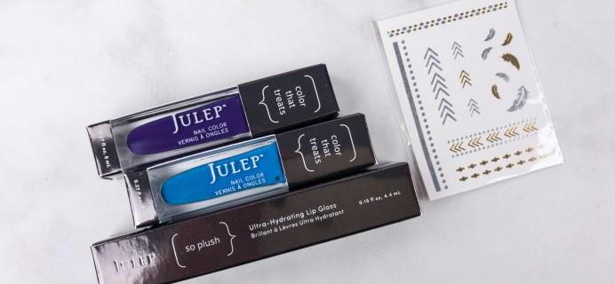 Julep Beauty Box July 2017 Subscription Box Review + Free Box Coupon!