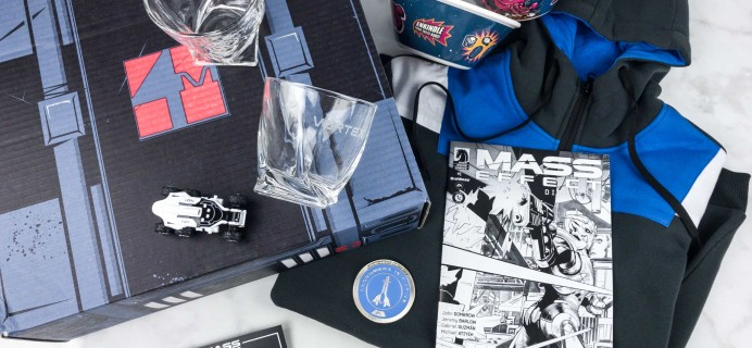 Loot Crate Mass Effect: Andromeda Limited Edition Box Review