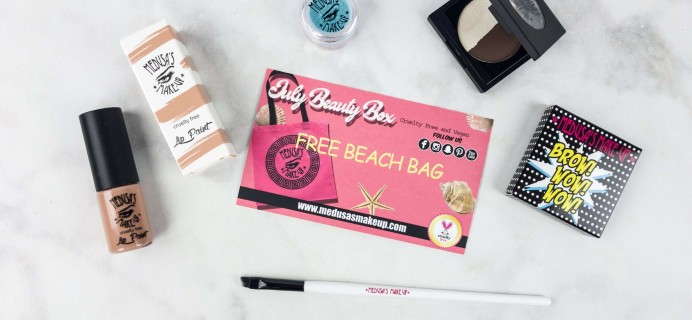 Medusa's Make-Up Beauty Box Subscription Box Review – July 2017