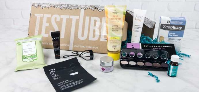 New Beauty Test Tube July 2017 Subscription Box Review + Coupon