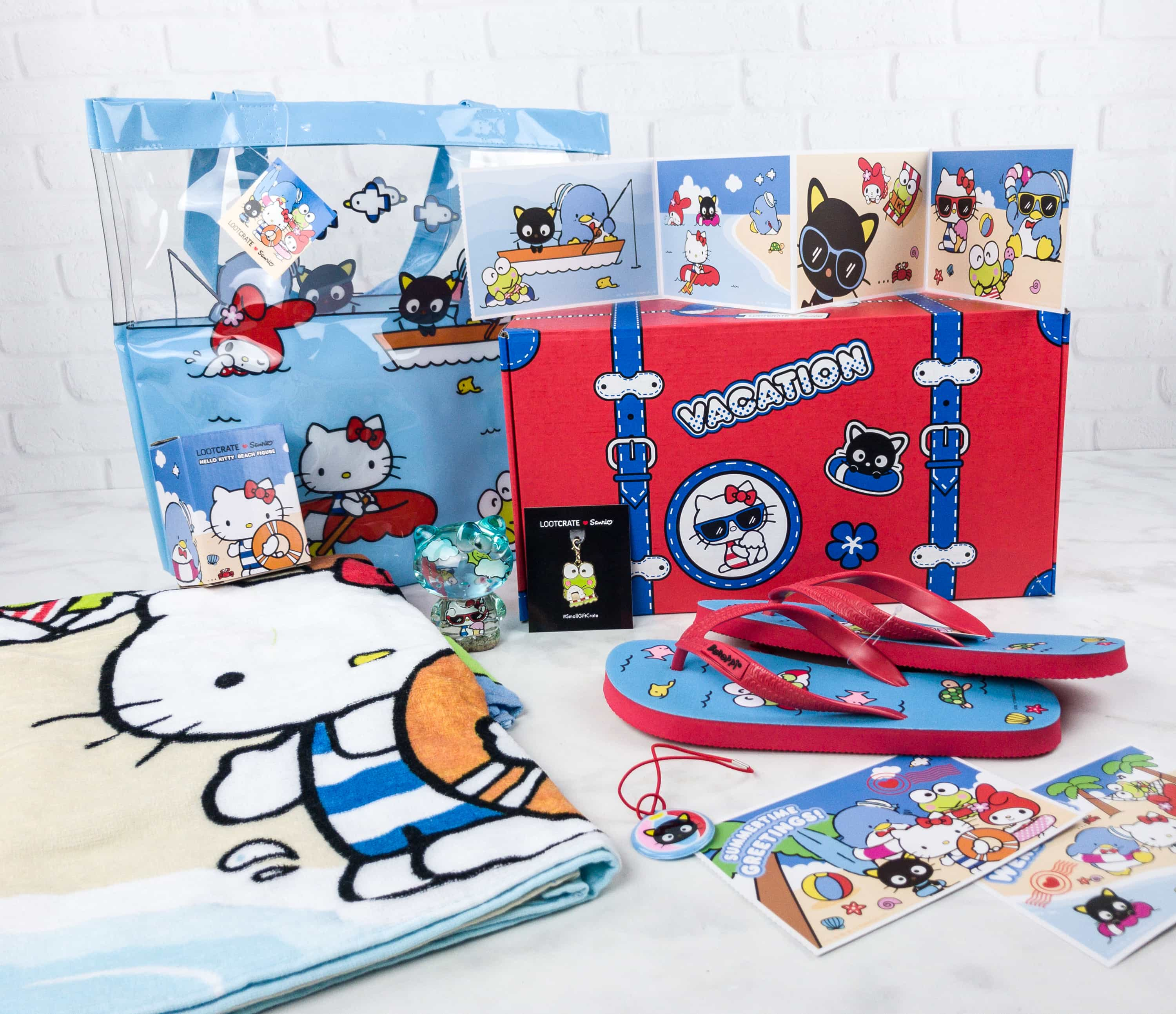 Sanrio Small Gift Crate Summer 2017 Subscription Box Review ...