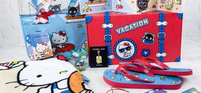 Sanrio Small Gift Crate Summer 2017 Subscription Box Review