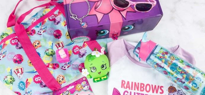 Shopkins Direct Summer 2017 Subscription Box Review