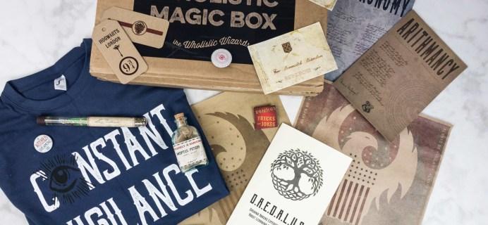 Wholistic Magic Box June/July 2017 Subscription Box Review