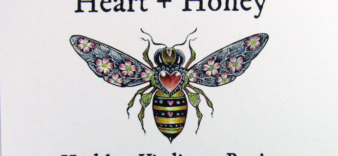 Heart + Honey August 2017 Subscription Box Review + Coupon –  Queen Bee Box [ADULT]