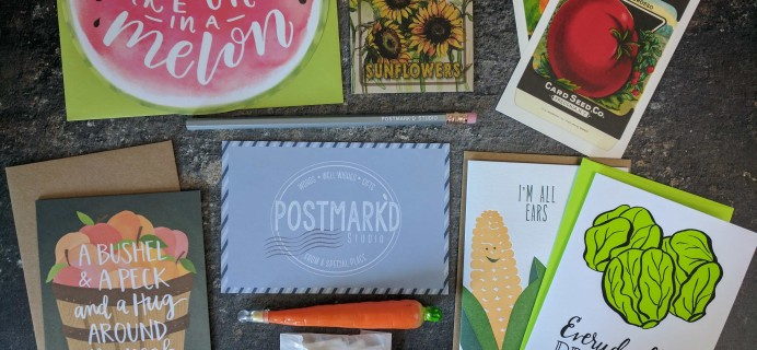 PostBox Subscription Box Review + Coupon – August 2017