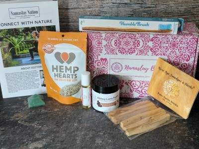 Namaslay Box Subscription Box Review – August 2017