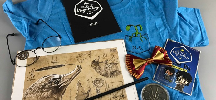 Geek Gear World of Wizardry July 2017 Subscription Box Review