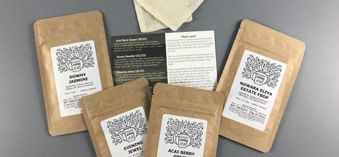 Simple Loose Leaf Tea August 2017 Subscription Box Review