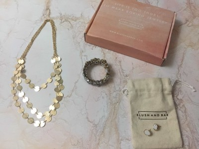BLUSHBOX by Blush and Bar August 2017 Subscription Box Review