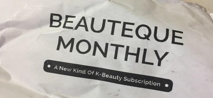Beauteque Mask Maven July 2017 Subscription Box Review + Coupon
