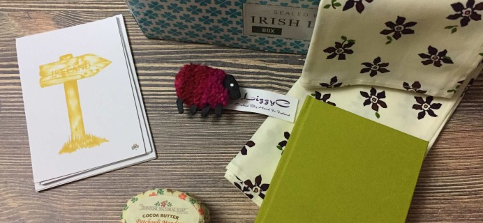 Sealed with Irish Love Box August 2017 Subscription Box Review