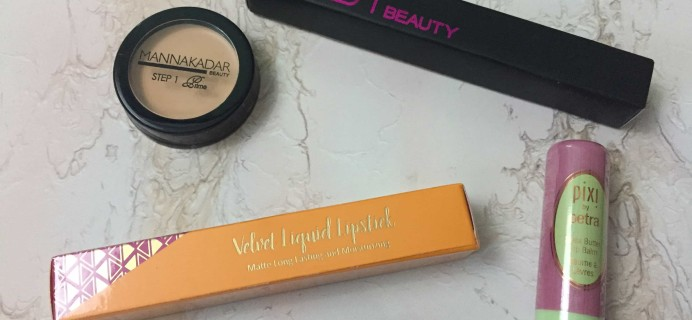 Lip Monthly July 2017 Subscription Box Review & Coupon