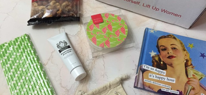 Woman Up Box August 2017 Subscription Box Review + Coupon!