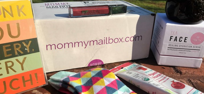 August 2017 Mommy Mailbox Subscription Box Review & Coupon
