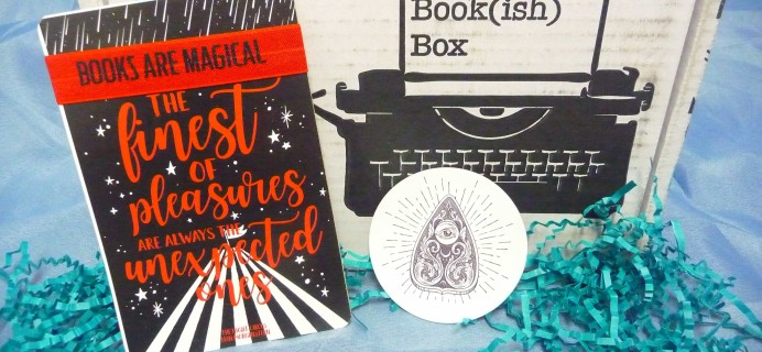 The Bookish Box July 2017 Subscription Box Review + Coupon