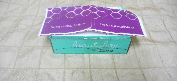 Beauty Box 5 July 2017 Subscription Box Review