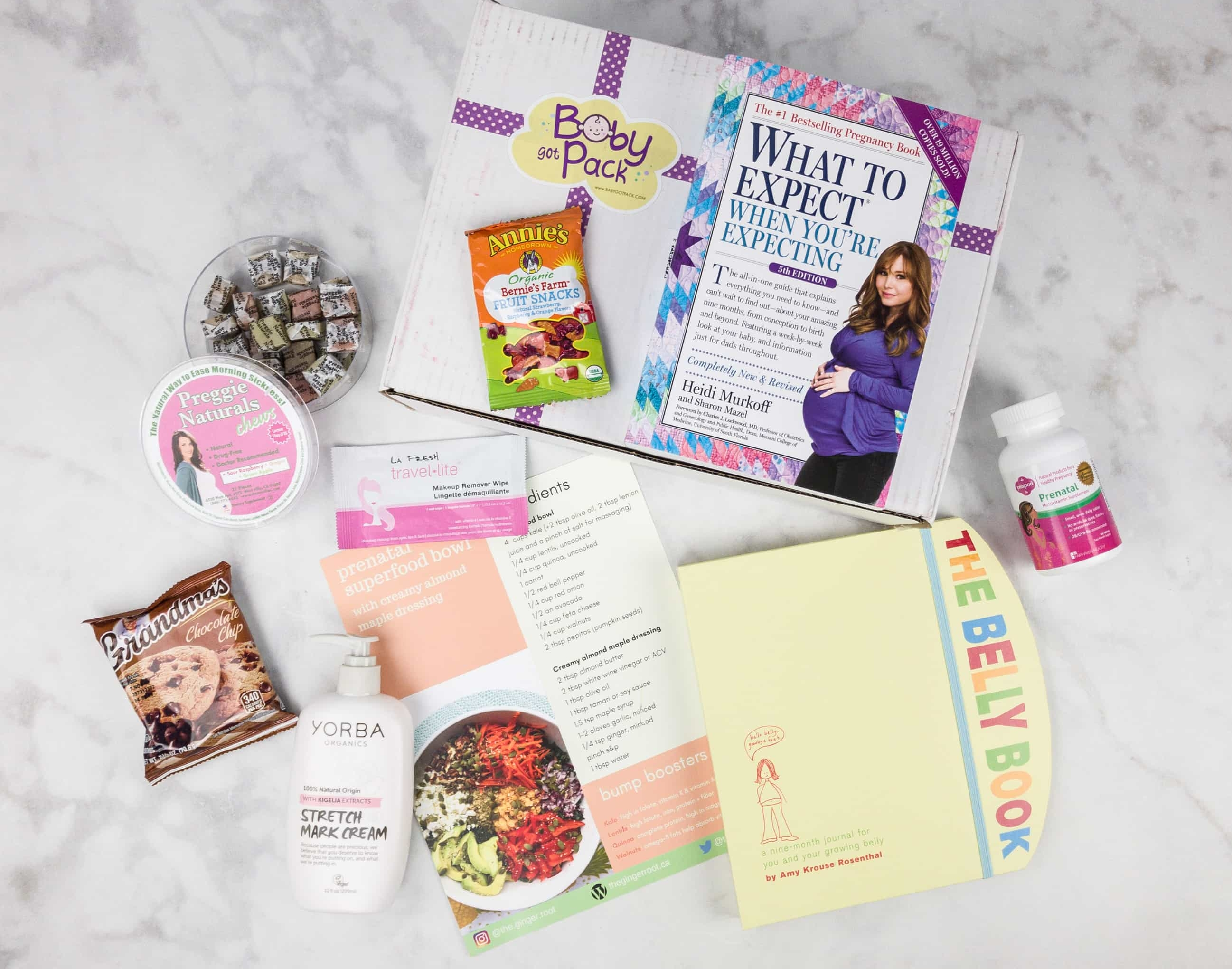 Baby Got Pack Subscription Box Review + Coupon u2013 First Trimester Box & Baby Subscription Box Reviews - hello subscription Aboutintivar.Com