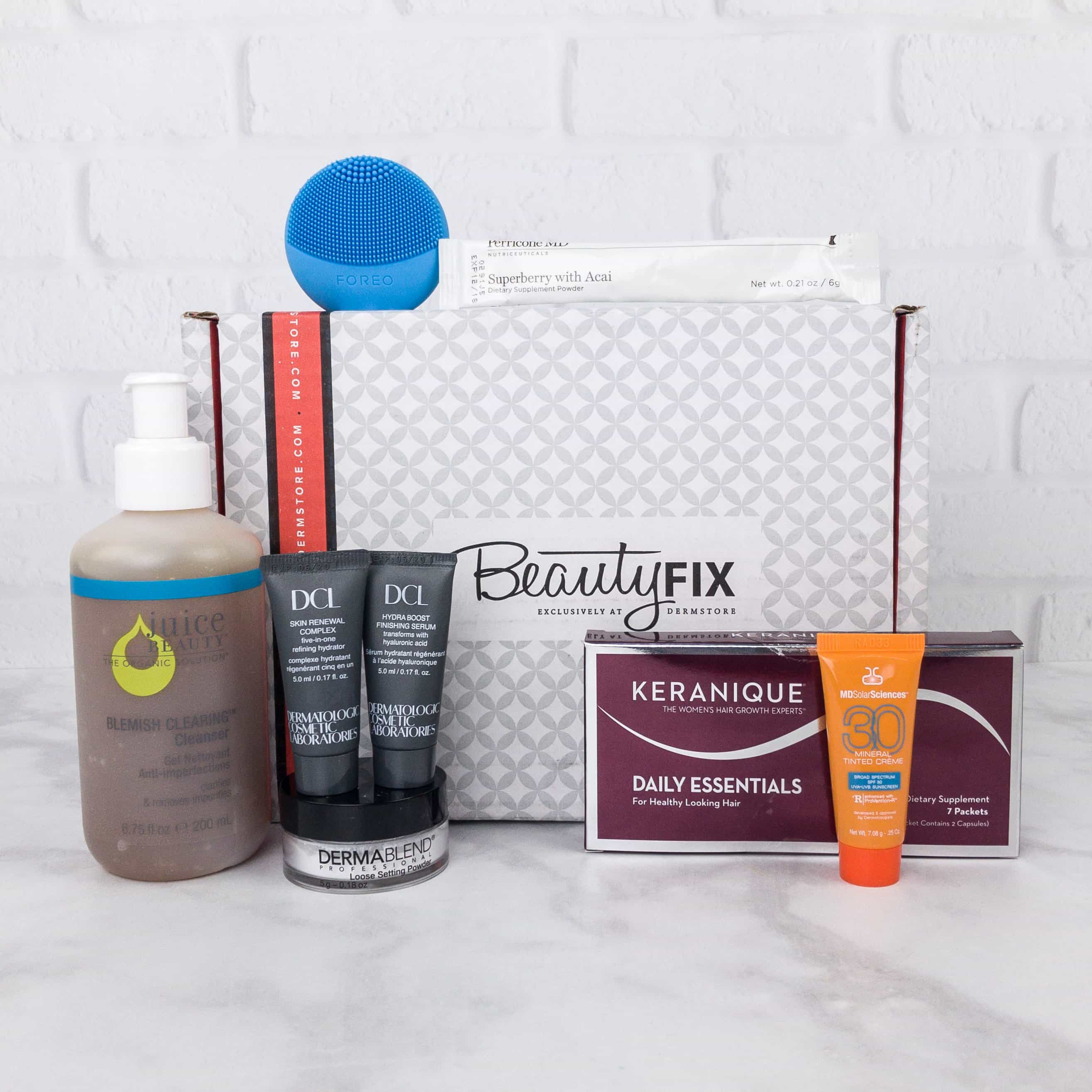 beautyfix august 2017 subscription box review coupon hello