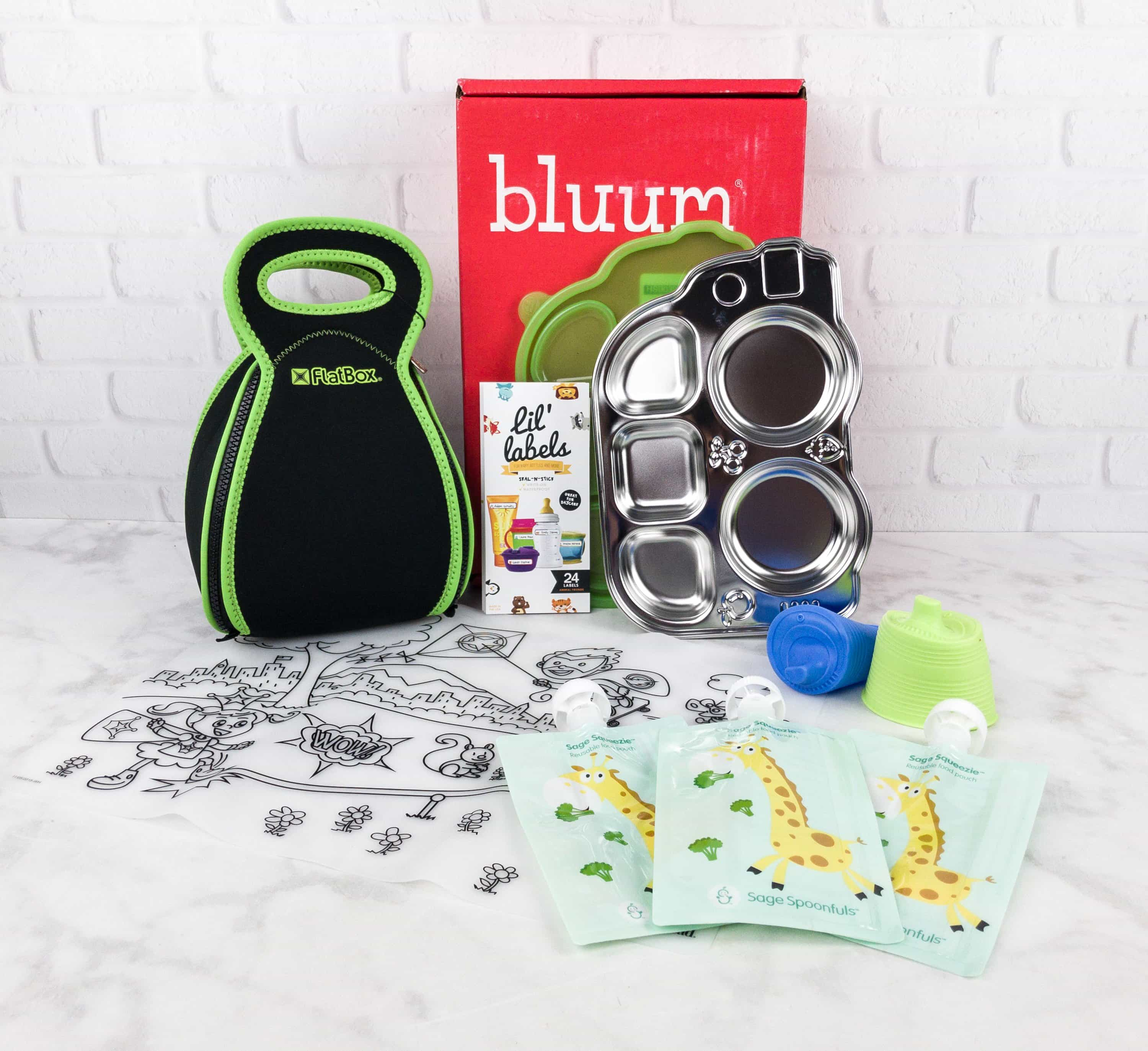 bluum august 2017 subscription box review coupon hello