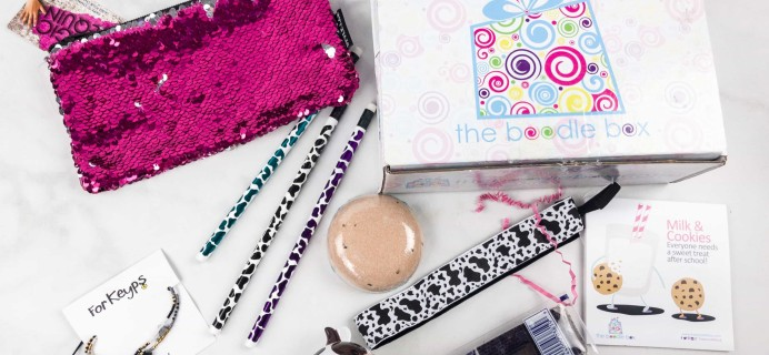 Boodle Box September 2017 Subscription Box Review – Boodle 1