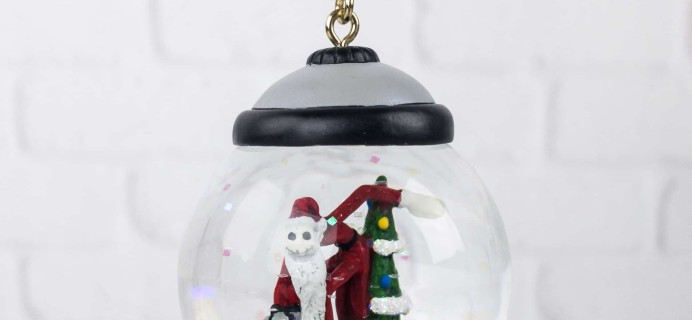 Disney Store 30th Anniversary Snowglobe Ornament Subscription August 2017 Subscription Box Review