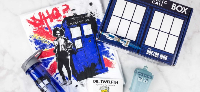 Doctor Who Block July 2017 Subscription Box Review