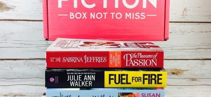 Fresh Fiction Box August 2017 Subscription Box Review + Coupon