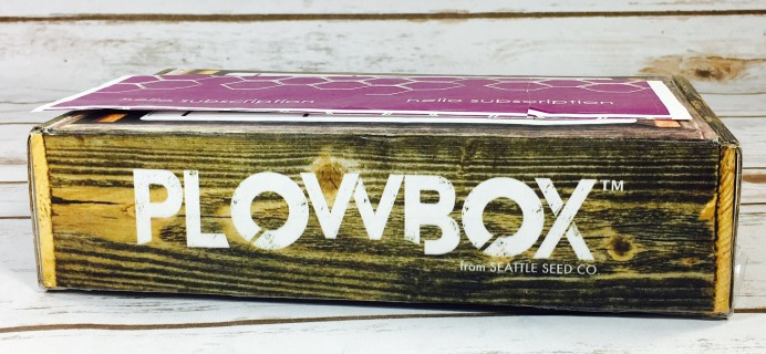 Plowbox Autumn 2017 Gardening Subscription Box Review + Coupon