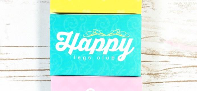 Happy Legs Club August 2017 Subscription Box Review -Refill Box