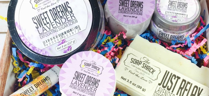 The Soap Shack Spoil Me Club Subscription Box Review + Coupon – August 2017