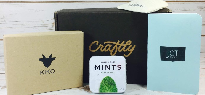 Craftly July-August 2017 Subscription Box Review