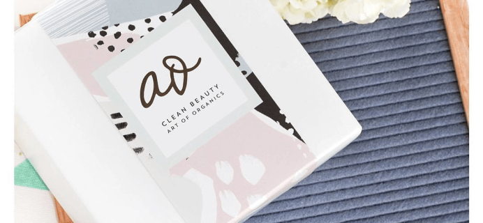The Clean Beauty Box by Art of Organics August 2017 Full Spoilers + Coupon!