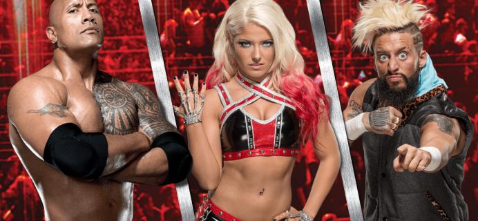 WWE Slam Crate October 2017 Full Spoilers!