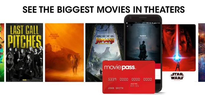 Cheaper MoviePass Subscription – One Movie Per Day For Only $9.95 Per Month!
