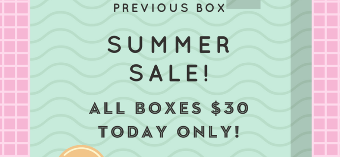 Today Only! Your Bijoux Box Sale: All Past Boxes $30!