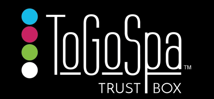 NEW ToGoSpa Trust Box Now Available!