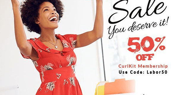 CurlKit Labor Day Sale: 50% Off Coupon! EXTENDED!!