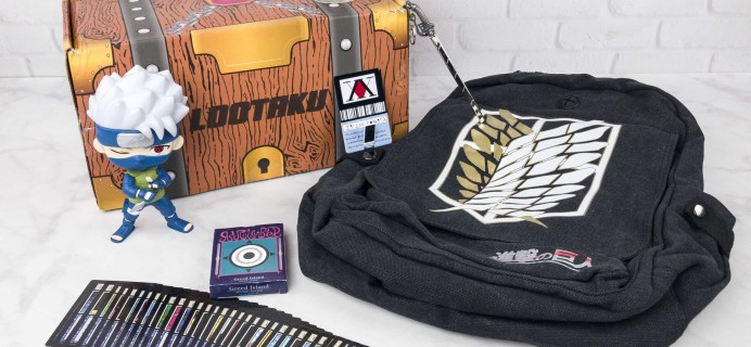 Lootaku August 2017 Subscription Box Review & Coupon