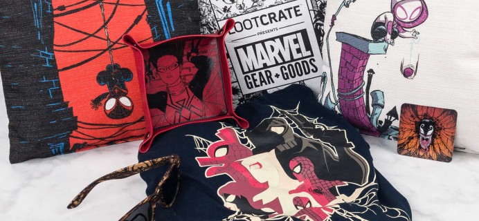 Marvel Gear + Goods July 2017 Subscription Box Review + Coupon!